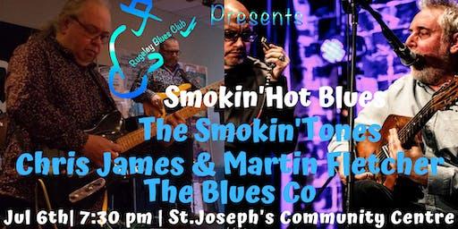 SMOKIN'  BLUES The Smokin'Tones,Chris James/Martin Fletcher, TheBlues Co