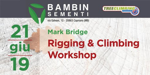Rigging & Climbing  Workshop con Mark Bridge