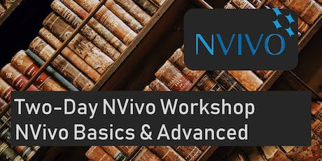 NVivo for Qualitative Research 2-days (Melbourne) - Essentials & Advanced tickets