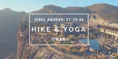 Escape the heat: Jabel Akhdar | Oman & Yoga Weekend