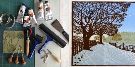 An Introduction to Linocut Printing tickets