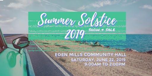 Summer Solstice Show & Sale 2019