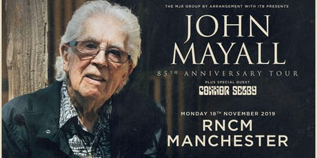 John Mayall - 85th Anniversary Tour (RNCM, Manchester) tickets
