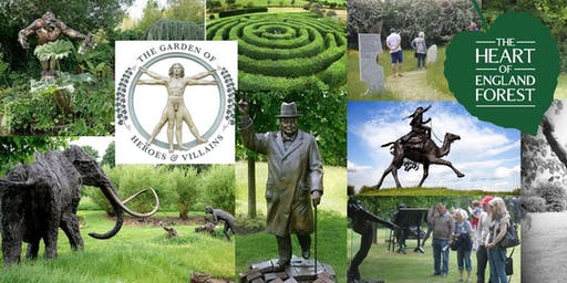 Garden of Heroes and Villains Fundraiser for the Heart of England Forest