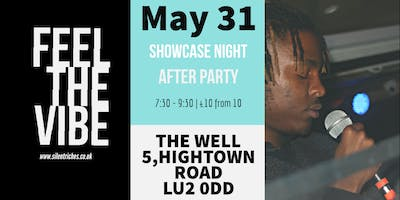 Feel The Vibe SHOWCASE & AFTERPARTY