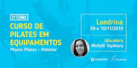 Curso de Pilates em Equipamentos - Physio Pilates Polestar - Londrina ingressos