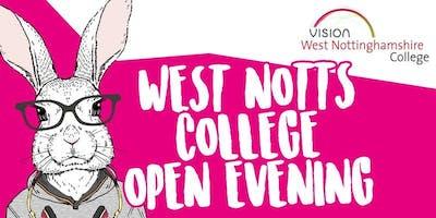West Notts College Open Evening