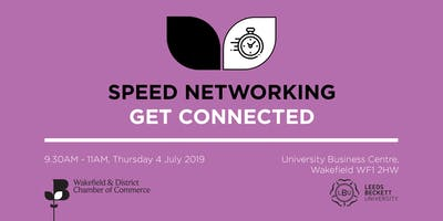 Speed Networking - Wakefield