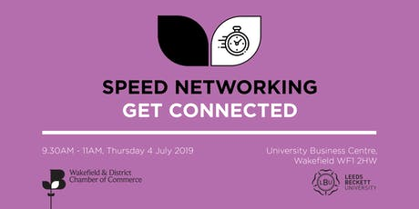 Speed Networking - Wakefield tickets