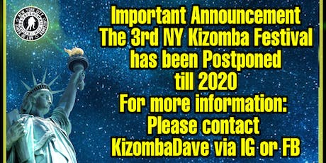 The 3rd NY Kizomba Festival tickets