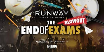 Runway Presents The End Of Exams Blowout!
