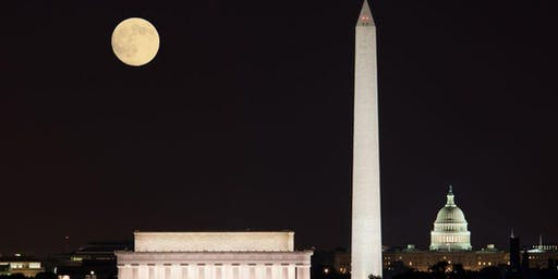 Thursday Night Full Moon Walk: National Mall Monuments & Memorials!