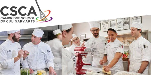 Cambridge School of Culinary Arts Fall Open House