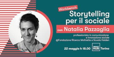 STORYTELLING PER IL SOCIALE | Impact Hub Workbench