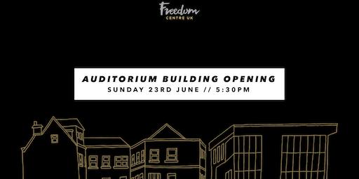 Freedom Centre UK Auditorium Opening