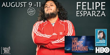 Comedian Felipe Esparza live at Off the hook comedy club Naples, Florida tickets