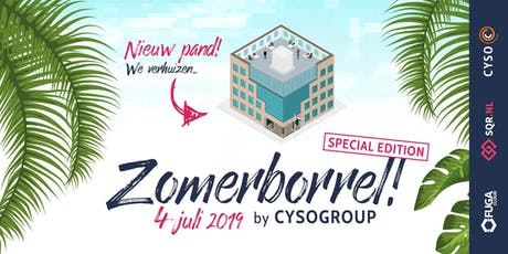 Cyso Group Zomerborrel 2019 tickets