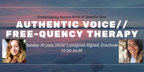 AUTHENTIC VOICE//FREE-QUENCY THERAPY tickets