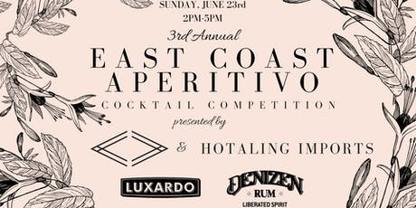 East Coast Aperitivo Cocktail Competition tickets
