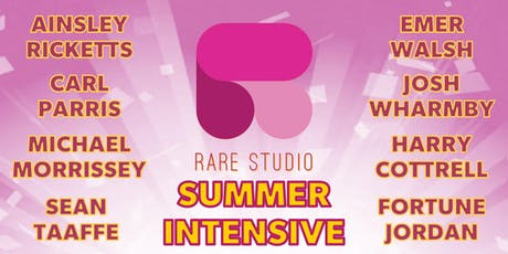 RARE STUDIO SUMMER INTENSIVE 2019 tickets