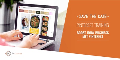"Pinterest Training ""Boost jouw business met Pinterest\"""