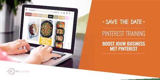 "Pinterest Training ""Boost jouw business met Pinterest"""