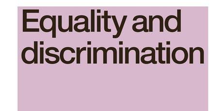 Equality & Discrimination tickets