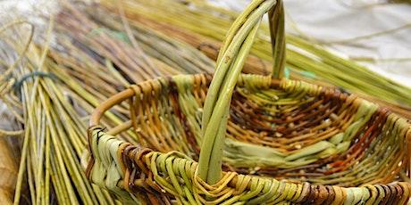 Plygu Basgedi i Ddechreuwyr | Beginner's Basketmaking  tickets