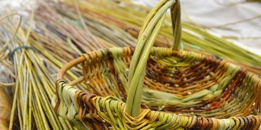 Plygu Basgedi i Ddechreuwyr | Beginner's Basketmaking