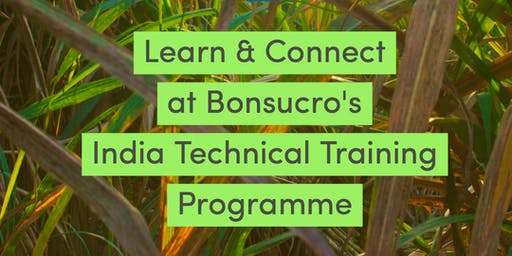 Bonsucro Technical Training - India