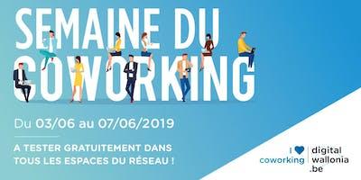 Semaine du Coworking 2019 à La Louvière