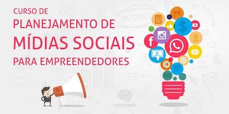Curso de Planejamento de Mídias Sociais para Empreendedores - BH ingressos