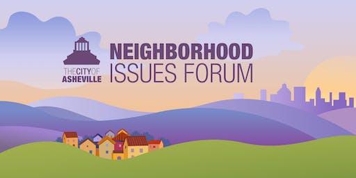 Neighborhood Issues Forum