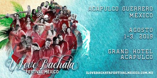 I Love Bachata Festival México 2019