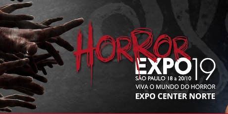 Atividades Horror Expo 2019 ingressos