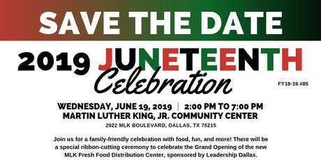 2019 Juneteenth Celebration tickets