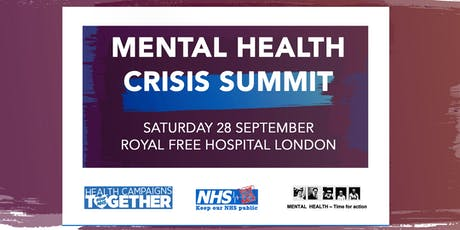 Mental Health Crisis Summit tickets