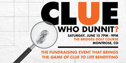 """CLUE""- an evening of mystery!"