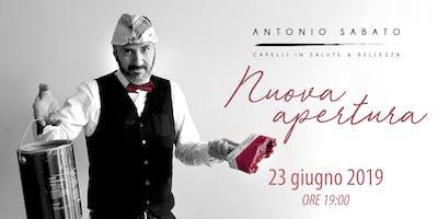 Inaugurazione nuovo Salone Antonio Sabato