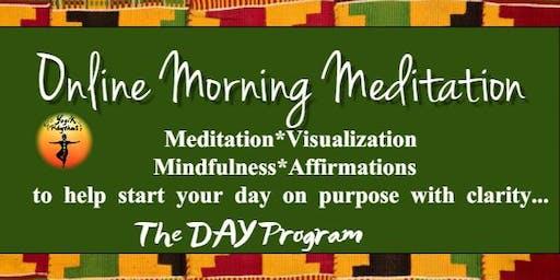 Online Morning Meditation