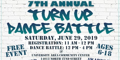 7th Annual Turn Up Dance Battle tickets
