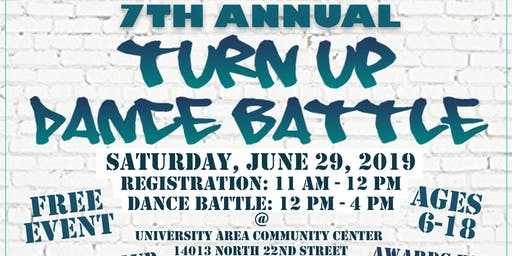 7th Annual Turn Up Dance Battle