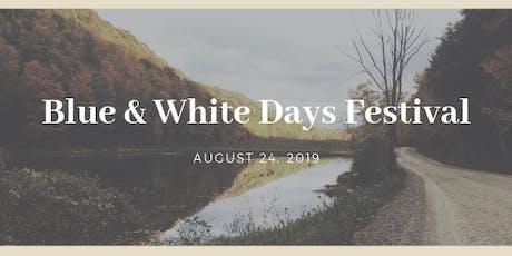 Blue & White Days tickets