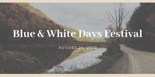 Blue & White Days