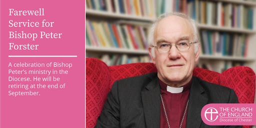 Farewell Service for Bishop Peter Forster