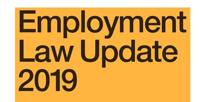 Employment Law Update 2019