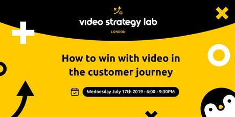 Win with video in the customer journey! tickets