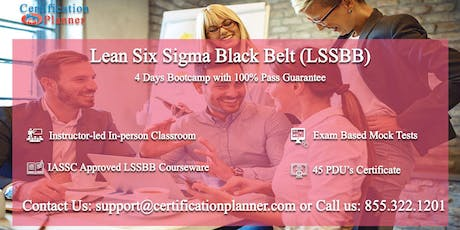 Lean Six Sigma Black Belt (LSSBB) 4 Days Classroom in Chihuahua entradas