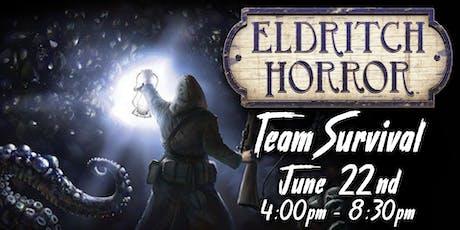 Eldritch Horror Team Survival tickets