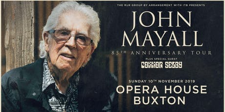 John Mayall - 85th Anniversary Tour (Opera House, Buxton) tickets